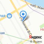 Долма на карте Санкт-Петербурга