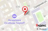 Схема проезда до компании Кс Пром в Санкт-Петербурге