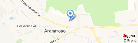АЗС ЛУКОЙЛ на карте Агалатово