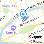 Магазин сантехники на карте Санкт-Петербурга