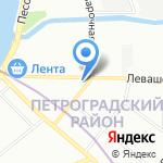 ЦиFры на карте Санкт-Петербурга