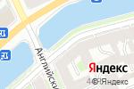 Схема проезда до компании Салон оптики и цветов в Санкт-Петербурге