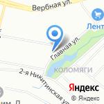Планета детства на карте Санкт-Петербурга