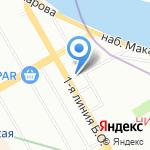 Санкт-Петербургский многопрофильный медицинский центр на карте Санкт-Петербурга