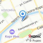 Транс Лэвэл Компани на карте Санкт-Петербурга