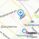 Мировые судьи Петроградского района на карте Санкт-Петербурга