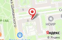 Схема проезда до компании Челленджер в Санкт-Петербурге