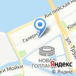 Темп на карте Санкт-Петербурга
