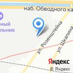 EmBrain на карте Санкт-Петербурга