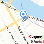 Жерминаль на карте Санкт-Петербурга