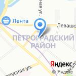Интел Хоум на карте Санкт-Петербурга