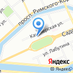 Шанель на карте Санкт-Петербурга
