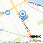 Лема на карте Санкт-Петербурга
