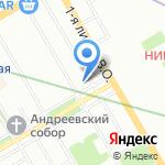 Гестия на карте Санкт-Петербурга