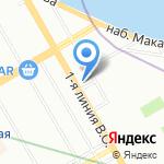 HOMO на карте Санкт-Петербурга