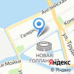 Такелажное Объединение на карте Санкт-Петербурга