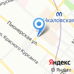 Спасибо! на карте Санкт-Петербурга