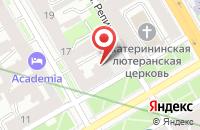 Схема проезда до компании Волна в Санкт-Петербурге