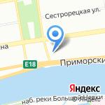 Нордкопи на карте Санкт-Петербурга