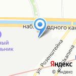 Юман на карте Санкт-Петербурга