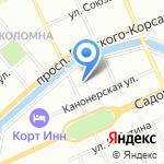 Невское брокерское агентство на карте Санкт-Петербурга