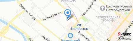 Балтстрой-Сервис на карте Санкт-Петербурга