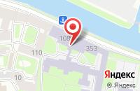 Схема проезда до компании Витеко в Санкт-Петербурге