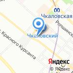 Сойкомед плюс на карте Санкт-Петербурга