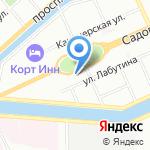 Детектор-СПб на карте Санкт-Петербурга