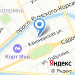 РосАл на карте Санкт-Петербурга
