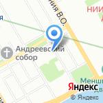 Арекс на карте Санкт-Петербурга
