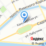 ЛИКА на карте Санкт-Петербурга