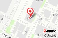 Схема проезда до компании Группа Компаний «Кран-Сервис» в Санкт-Петербурге