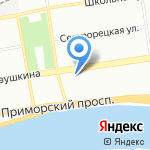 Сатис на карте Санкт-Петербурга