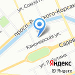 Стоматологическая клиника доктора Ю.П. Липовки на карте Санкт-Петербурга