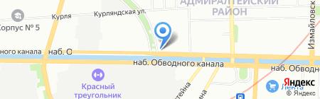 СтройСистема на карте Санкт-Петербурга