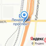 Стройкомфорт на карте Санкт-Петербурга