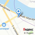 В центре свадебных скидок на карте Санкт-Петербурга