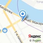СКАИР на карте Санкт-Петербурга