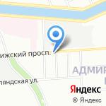Аванта Софт на карте Санкт-Петербурга