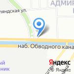 Лайф Девелопмент Групп на карте Санкт-Петербурга