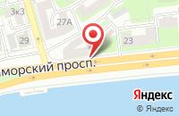 Схема проезда до компании ВЫСТАВОЧНЫЙ МАГАЗИН-САЛОН ПЕЧИ КАМИНЫ в Приморске