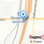 AutoLand на карте Санкт-Петербурга