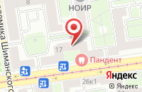 Схема проезда до компании Русская Гоночная Компания в Санкт-Петербурге