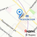 Vintage на карте Санкт-Петербурга