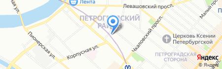 Банкомат Райффайзенбанк на карте Санкт-Петербурга