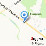 Экстраполис на карте Санкт-Петербурга