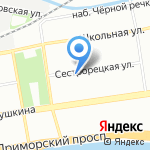 Мастер Гласс на карте Санкт-Петербурга