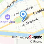 Пак-Лайн на карте Санкт-Петербурга