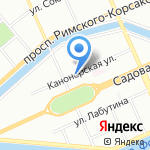 Имерети на карте Санкт-Петербурга